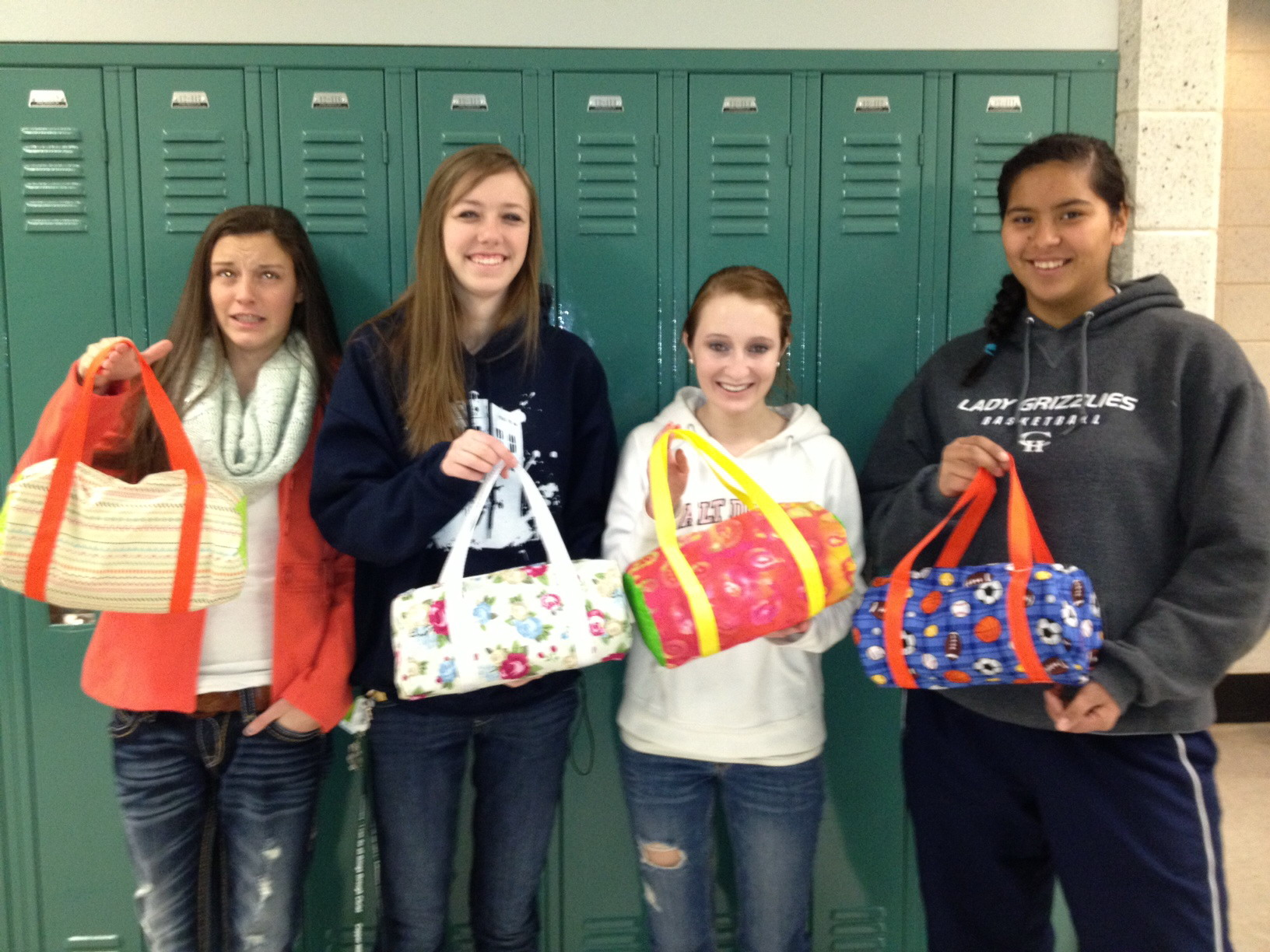 Sewing Students Sport Mini Gym Bags